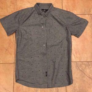 Molokai Surf Shirts - Molokai Grey Surf Burton up shirt